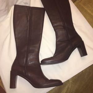 Liz Claiborne Brown Leather Boot